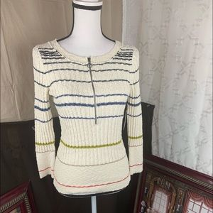 free people  sweater Long Sleeved V Neck
